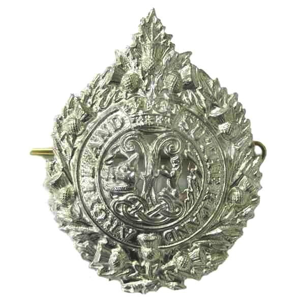 Argyll and Sutherland Highlanders badge