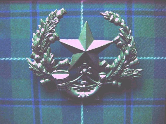 Cameronians/Scottish Rifles Badge