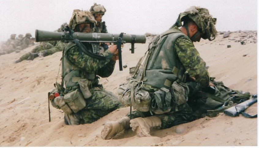 Canadian Carl Gustav in Afghanistan