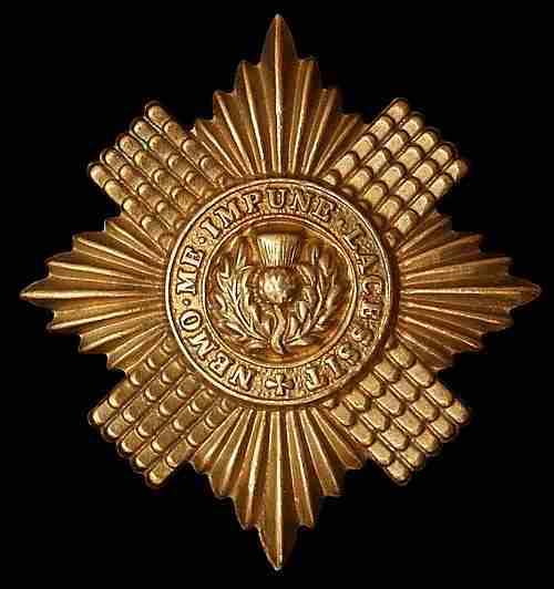Scots Guards badge